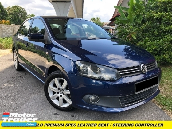 2014 VOLKSWAGEN POLO 1.6 SPORT LINE PREMIUM SPEC LEATHER SEAT