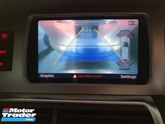 2013 AUDI Q7 3.0 TDI QUATTRO S LINE (UK SPEC)(ACTUAL YR MADE 2013)