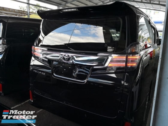 2016 TOYOTA VELLFIRE 2.5 ZA SUNROOF 360 CAMERAS POWER BOOT JAPAN UNREG