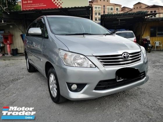 2013 TOYOTA INNOVA 2.0 G (A) Full Toyota service