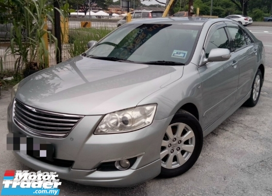 2008 TOYOTA CAMRY 2.0E (A)/ORI Y.MADE/RUNNINGCONDITION/ACC FREE/ORI YEAR MADE
