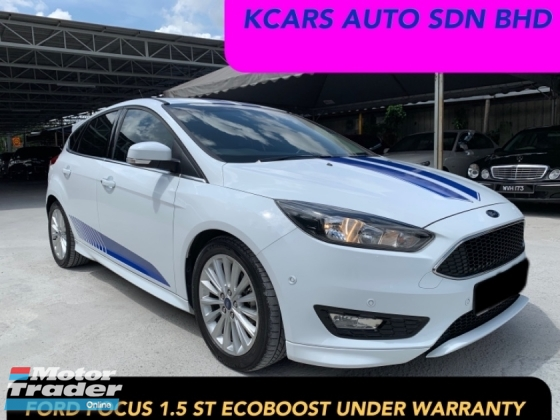 2017 Ford Focus 1 5 Ecoboost S Under Warranty Unit