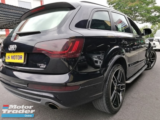 2011 AUDI Q7 3.0 TDI (A) QUATTRO S LINE FACELIFT,PANAROMIC ROOF.POWER BOOT,BOSE SOUND SYSTEM,8SPEED GEARBOX,AIR MATIC IN GOOD CONDITION,FULL LOAN...