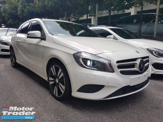 2014 MERCEDES-BENZ A-CLASS 2014 Mercedes A180 SE Exclusive Spec Radar System Blind Spot Assith LKA System Unregister for sale