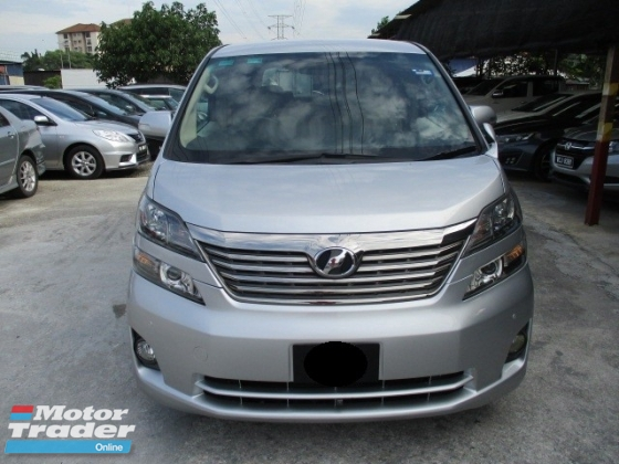 2009 TOYOTA VELLFIRE 2.4 2 power door 8 seater mpv