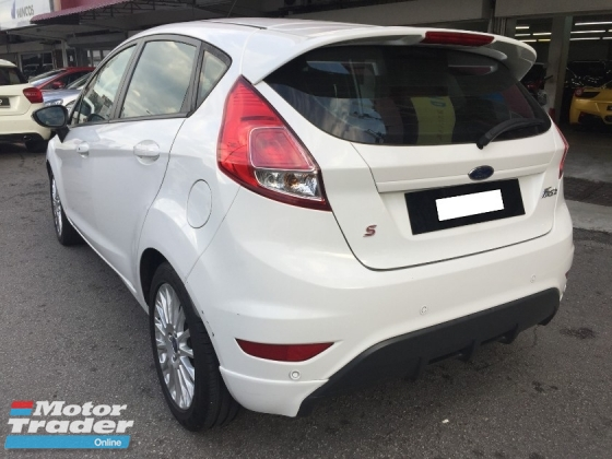2013 FORD FIESTA 1.5 (A) Facelift Model Actual Year Make 2013