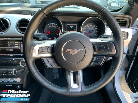 2016 FORD MUSTANG 2.3 ECOBOST SPORT COUPE UNREG 1 YEAR WARRANTY