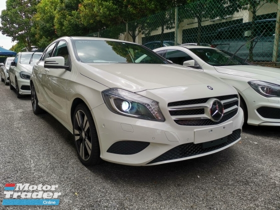 2014 MERCEDES-BENZ A-CLASS A180 SE EXCLUSIVE RADAR BSM UNREG