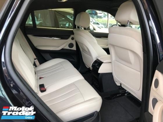 2015 BMW X6 M Sport xDrive 40d 3.0 Twin Turbocharged New Model Digital Meter Head Up Display 4 Surround Camera Intelligent LED Harman Kardon Premium Sun Roof Memory Seat Paddle Shift Steering Sport Plus Eco Selection Bluetooth Connectivity Unreg