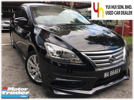 2014 NISSAN SYLPHY 1.8 VL (A) VL PUSH START