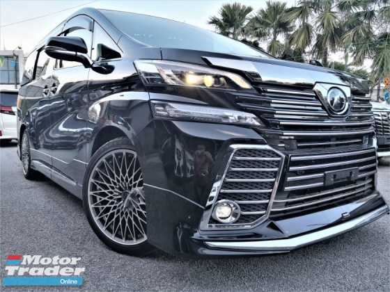 2016 TOYOTA VELLFIRE 2.5ZG Edition = RED LEATHER = PRE CRASH = FULL SET ALPINE = DAD MODE 20 RIM =