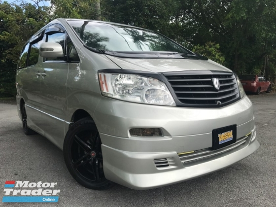 2005 TOYOTA ALPHARD 2.4 (A) WEEKEND USE LEATHER SEAT POWER BOAT