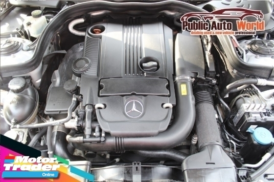 2009 MERCEDES-BENZ E-CLASS Mercedes Benz E250 1.8 CGi AVANTGARDE BlackLEATHER