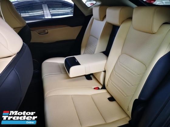 2014 LEXUS NX NX200T VERSION L SUNROOF/LEATHER SEAT - UNREG
