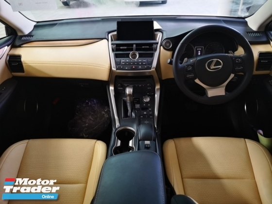 2014 LEXUS NX NX200T VERSION L SUNROOF/LEATHER SEAT - UNREG