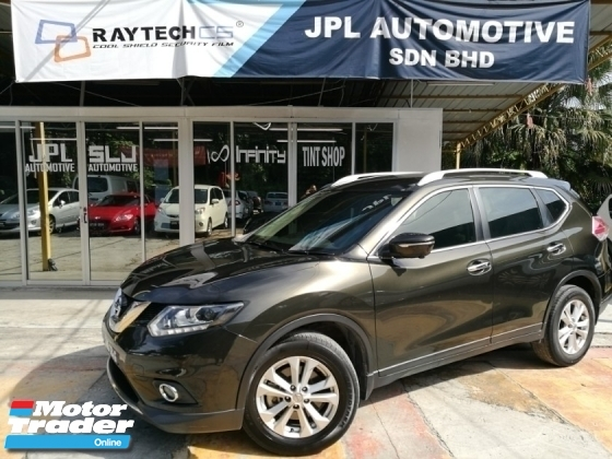 2017 NISSAN X-TRAIL 2.5L FULL SPEC 4WD TIP TOP CONDITION FULL LOAN PROMOTIONS !!!!!!!
