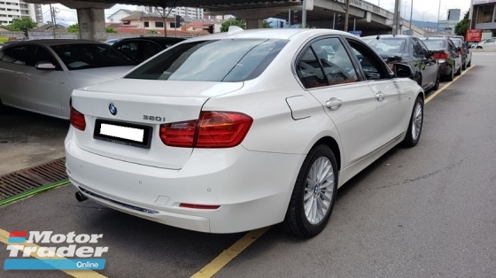 2014 BMW 3 SERIES 320I (A) LUXURY LINE, REG 2014, ONE CAREFUL OWNER, FULL SERVICE RECORD, LOW MILEAGE DONE 70K KM, UNDER WARRANTY UNTIL JUNE 2019
