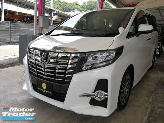 2017 TOYOTA ALPHARD SC SUNROOF OFFER PILOT SEAT UNREG 2019