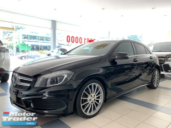 2014 MERCEDES-BENZ A-CLASS A180 AMG SPORT PACKAGE 7G TRONIC