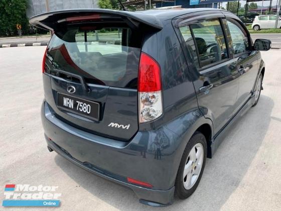 2008 PERODUA MYVI 1.3 Auto,1 Year Warranty\