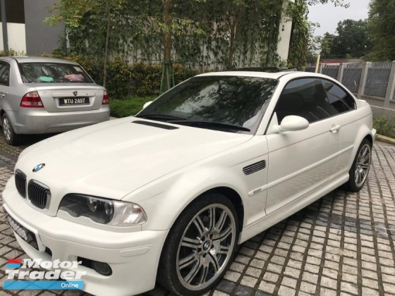2002 BMW M3 E46 6 speed original