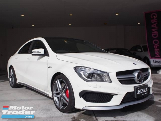 2014 MERCEDES-BENZ CLA CLA45 2.0 RECARO SEATS PANAROMIC ROOF UNREG 2014