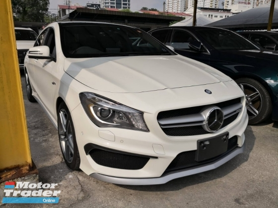 2015 MERCEDES-BENZ CLA CLA45 2.0 FACELIFT PANAROMIC ROOF JAPAN SPEC UNREG 2015
