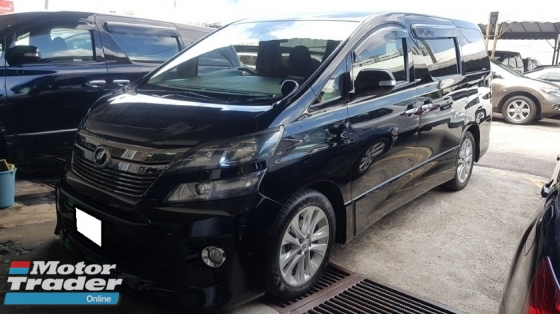 2010 TOYOTA VELLFIRE 2.4Z PLATINUM SELECTION (A) REG 2015, CHANGE TO NEW FACESLIT, ONE CAREFUL OWNER, 7 SEAT, 2 POWER DOOR, POWER BOOT, 18\