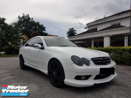 2007 MERCEDES-BENZ CLK CLK200 KOMPRESSOR AMG SPORTS EDITION