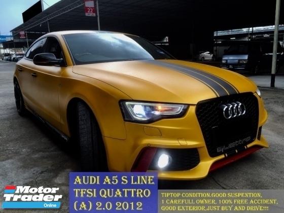 2012 Audi A5 20 Tfsi Quattro Auto S Line Rm 143990 Used Car