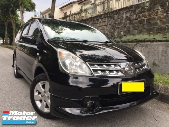 2011 NISSAN GRAND LIVINA 2011 NISSAN GRAND LIVINA 1.8L IMPUL (A) 1 LADY GIKGU FULL SPEC