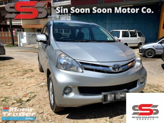 2012 TOYOTA AVANZA 1.5 G FULL(AUTO)2012.13 Only 1 Careful LADY Owner, 58K Mileage, TIPTOP, ACCIDENT-Free, DIRECT-Owner, with 2 AIRBEGs & NEW MODEL