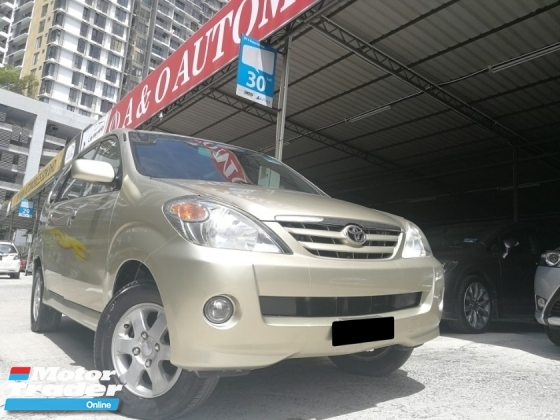 2006 TOYOTA AVANZA Toyota Avanza 1.3 AT 1 VVIP OWNER