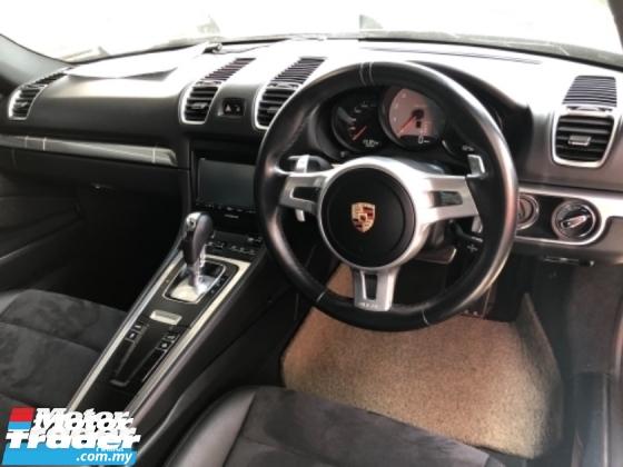 2015 PORSCHE CAYMAN Unreg Porsche Cayman S 3.4 PDK Paddle Shift 7Speed Camera