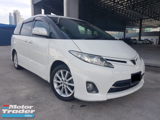 2011 TOYOTA ESTIMA 2011 Reg 2014 Toyota Estima 2.4 AERAS G 2 Power Door 7 Seater Full Leather for sale...