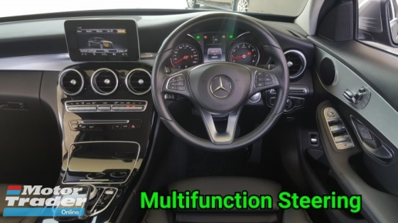 2016 MERCEDES-BENZ C-CLASS C200 W205 CGI AVANTGARDE CKD HAP SENG START FULL SERVICE AND WARRANTY BY MERCEDES UNTIL 2020 ( ACTUAL YEAR 2016 )