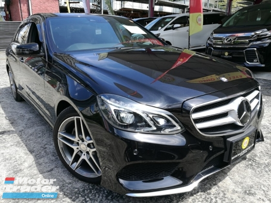 2014 MERCEDES-BENZ E-CLASS MERCEDES BENZ E250 AMG JAPAN FULL SPEC FULL LEATHER INTERIOR CHEAPEST IN MARKET UNREG 2014