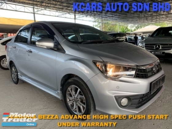 2018 PERODUA BEZZA 1.3 Advance H/Spec Under Warranty
