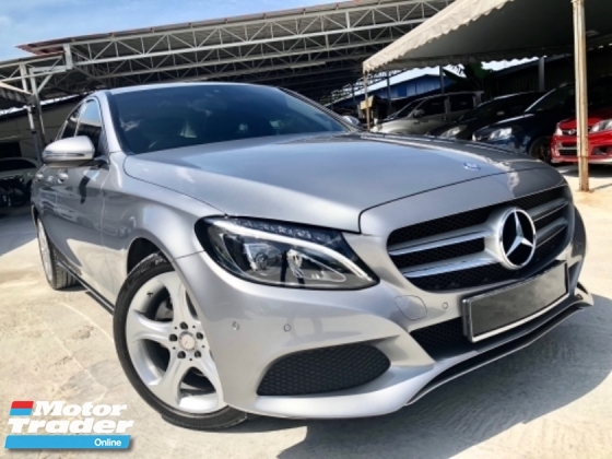 2017 MERCEDES-BENZ C-CLASS C200 2.0 (A) 40km + FULL SVC RECORD UNDER WARRANTY HSS