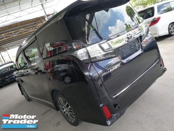 2015 TOYOTA VELLFIRE 2.5 New Model