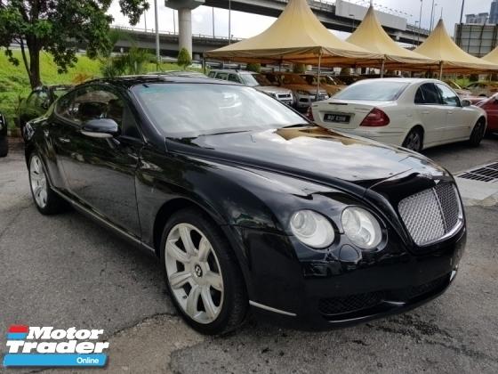 2005 BENTLEY CONTINENTAL GT 6.0 (A)