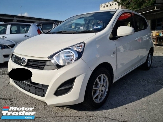 2015 PERODUA AXIA 1.0 G (A) Full Service, One Owner