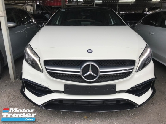 2016 MERCEDES-BENZ A-CLASS A45 AMG 4MATIC FACELIFTED SUNROOF