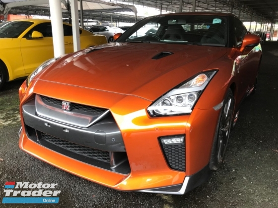 2017 NISSAN GT-R GT-R R35 PREMIUM EDITION FACELIFTED