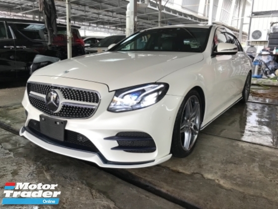2017 MERCEDES-BENZ E-CLASS E250 AMG SPORT NEW MODEL