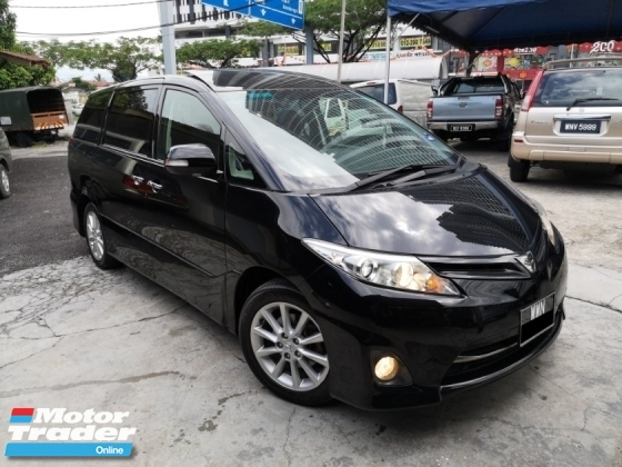 2013 TOYOTA ESTIMA 2.4 Aeras Facelift Sunroof PowerDoor TipTopCond Selling Cheap