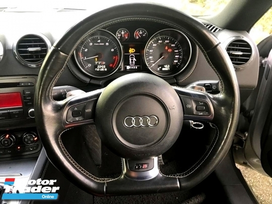 2008 AUDI TTS 2.0 TURBO COUPE (A) TFSI QUATTRO LEATHER ELECTRIC ADJUSTABLE SEAT PADDLE SHIFT