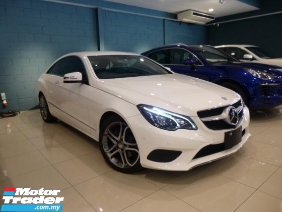 2014 MERCEDES-BENZ E-CLASS { PROVIDE 3-YEARS WARRANTY } FULL SPEC-2014 Mercedes-Benz E250 Coupe E200 E300 C250 C200 E350
