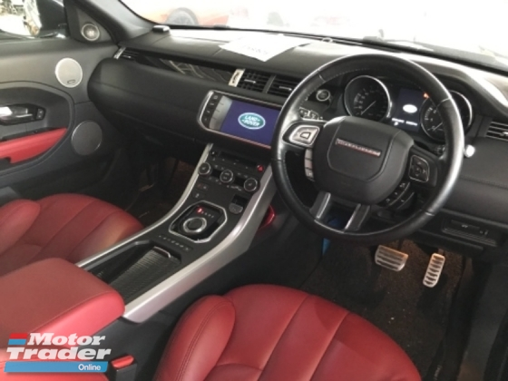 2014 LAND ROVER EVOQUE EVOQUE COUPE DYNAMIC COBRA SEAT
