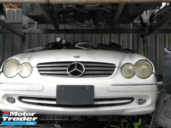 MERCEDES BENZ FRONT HALF CUT